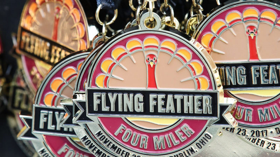 Flying Feather Four Miler